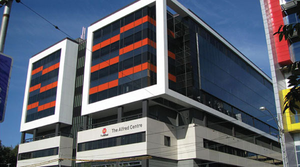 The Alfred Centre, completed 2010