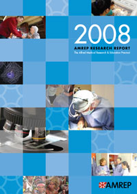 AMREP Research Report 2008