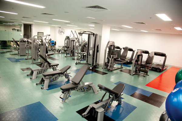 Healthy Lifestyle Research Centre gymnasium