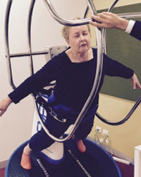 Researchers from The Alfred and Monash University are testing a new machine to treat Parkinson's symptoms.